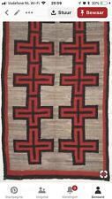 Turkish Kilim Rug Reversible Handwoven Navajo Kilim 5x8 ft Wool Area Rug