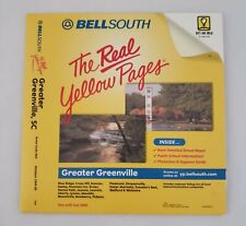 BellSouth The REAL Yellow Pages Greater GREENVILLE SC 1999-00 CD-ROM Furman Towe