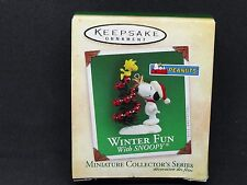 2004 - WINTER FUN WITH  SNOOPY #7 - HALLMARK ORNAMENT