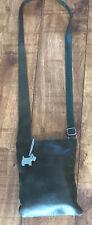 Ladies Radley dark green leather cross body bag