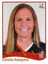 Panini FIFA World Cup 2011 Germany Women Sticker #186 Christie Rampone USA
