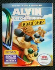 Alvin and the Chipmunks: 2,3 and 4  (Blu-ray, 2016, 3-Disc Set)