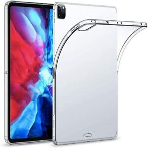 """Slim Thin Clear Gel Case Cover for Apple iPad 12.9"""" (2020) 4th Generation"""
