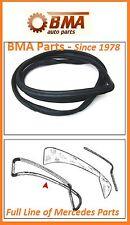 Mercedes W108 W109 250S 250SEL 300SEL 66-75 Rear Back Glass Seal 1086780040