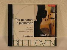 Trio per archi e pianoforte op. 1 n.3 - van Beethoven - Amadeus cd usato (F106)