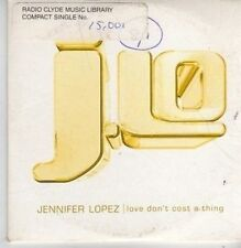 (BP759) Jennifer Lopez, Love Don't Cost A Thing - DJ CD