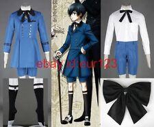 Black Butler Ciel Phantomhive Cosplay Costume Custom