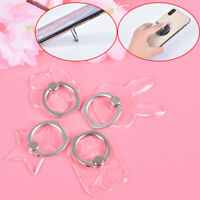 Universal 360 Rotating Transparent Cell Phone Finger Ring Stand Holder Simpl TDC