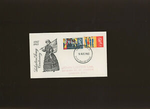 1965 Salvation Army Phosphor illustrated FDC London WC FDI H/S. Cat £35