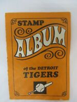 TOPPS 1969 STAMP ALBUM DETROIT TIGERS CASH, KALINE, LOLICH  ETC.....