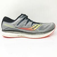 Saucony Mens Triumph ISO 5 S20463-1 Gray Running Shoes Lace Up Low Top Size 11 W