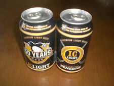 2017 PITTSBURGH PENGUINS IRON CITY IC LIGHT BEER CAN 50 YEARS 1967 - 2017 - BO