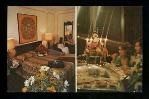 Motel / Hotel chrome postcard Louisiana LA Bossier City, Sheraton Bossier Inn