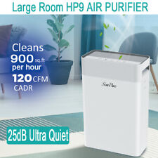 Large Room Air Purifier 4 STAGE HEPA for Home Air Cleaner Allergies Smoke Odor