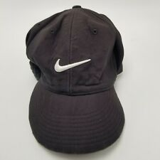 Nike Hat Cap Black Flexfit Fitted Medium to Large Mens Used Bl4