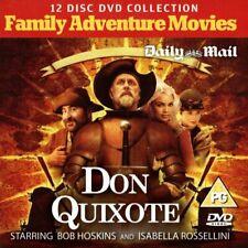 DON QUIXOTE (2000) PROMO DVD /  JOHN LITHGOW, BOB HOSKINS, ISABELLA ROSSELLINI