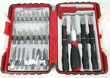 GORDON 33-Piece Deluxe Hobby Knife Set in Case