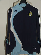 MAGLIA CALCIO SHIRT TRIKOT CAMISETA REAL MADRID LONG SLEEVE FORMOTION tg. XL