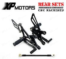 CNC Foot Control Kit Rearsets For Kawasaki Ninja ZX6R ZX6RR ZX636 2005-2008 AL