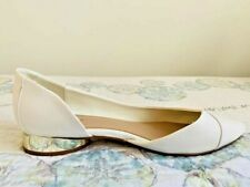 White Aldo flats shoes