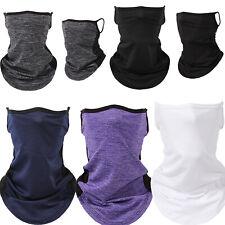 Scarf Bandana Mens Tube Face Wrap Neck Gaiter Mouth Cover Snood Outdoor Headwear