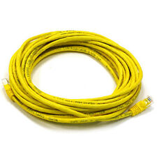 25FT Yellow High Quality Cat6 550MHz UTP RJ45 Ethernet Bare Copper Network Cable