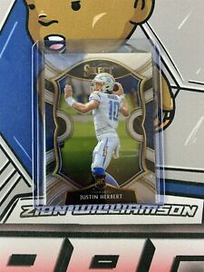 2020 PANINI SELECT JUSTIN HERBERT ROOKIE CONCOURSE LEVEL #44 CHARGERS B6