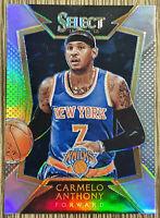 2014-15 Panini Select Carmelo Anthony 🏀 Silver Holo 🔥 New York Knicks