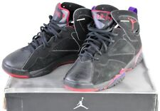 304775-006 Nike Air Jordan 7 Retro Raptor Black Charcoal Red Sz 11 Original Box