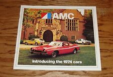 Original 1974 AMC American Motors Full Line Sales Brochure 74 Matador Hornet