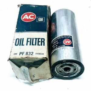 AC PF832 GM 6439034 Spin On Engine Oil Filter For GM Medium Duty Trucks NOS
