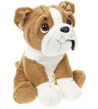"""11"""" Cute Sitting British English Bulldog Dog Puppy Teddy Soft Plush Beanie Toy"""