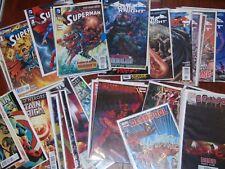 Comic Book Mix Lot of 51 Marvel & DC Comics Superman, Deadpool, Captain America