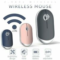 Bluetooth 5.0 + 2.4G Wireless Computer Mouse Rechargeable Mice FOR PC Laptop USB