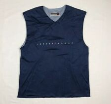 Vtg Jordan Brand Mens Warm Up Basketball Jersey Sz Large Reversible A4