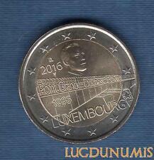 2 Euro Commémo – Luxembourg 2016 Pont Grand Duchesse Charlotte – Letzebuerg