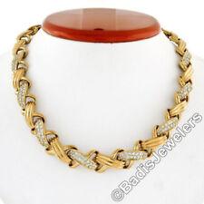 Collares y colgantes de joyería de oro amarillo de 18 quilates, símbolos