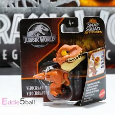 🦕🦖 NJurassic World SNAP SQUAD VELOCIRAPTOR ATTITUDES Dinosaur CAMP CRETACEOUS