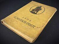 Rare Livre Ancien almanach Payot 1923 agenda de poche de la jeunesse