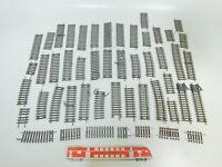 BN907-1# 50x Roco H0/DC Gleis: 42412+42413+42427+42409 etc, Bastler/gut