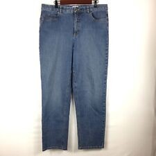 Talbots Womens Jeans Size 16 Stretch Denim Spandex Cotton Blend Inseam 30.5