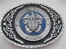 States Navy - Pewter Belt Buckle #442 - United