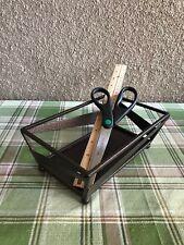 Modern Hammered Metal Art Basket by DINE ART®