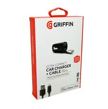 Griffin Powerjolt Lightning Car Charger For Apple iPhone 6/7/8/X/XS Max NEW