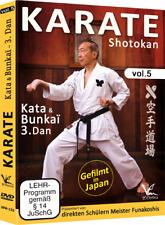 Shotokan Karate KEIO Vol.5 Kata & Bunkai 3.Dan  Direkte Schüler von Funakoshi