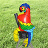 New.Inflatable Parrot Decorations Hawaiian Pool Beach Party Stag Sit on Sh J0U9