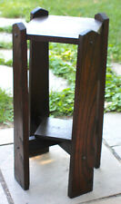 Antique Mission Oak Side Table Stand Stickley Roycroft Ear c.1915 Unmarked