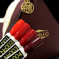 Komilfo Rior Collection 8ml Gel Nail Polish Red Colours