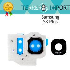 Lente Plata Embellecedor Camara Trasera para Samsung Galaxy S8 Plus G955F