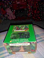💚💜 NEW Balsam & Cedar Box of 12 Tealight Candles Yankee Candle  💚💜